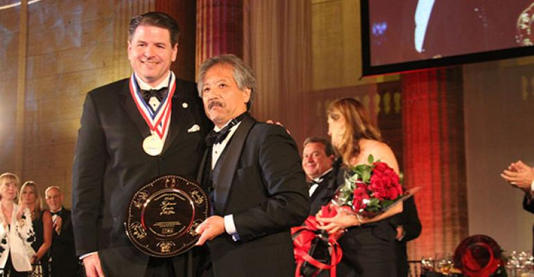 Sterling Spoon CEO John Metz Jr won the prestigious IFMA Gold Plate Award in 2013
