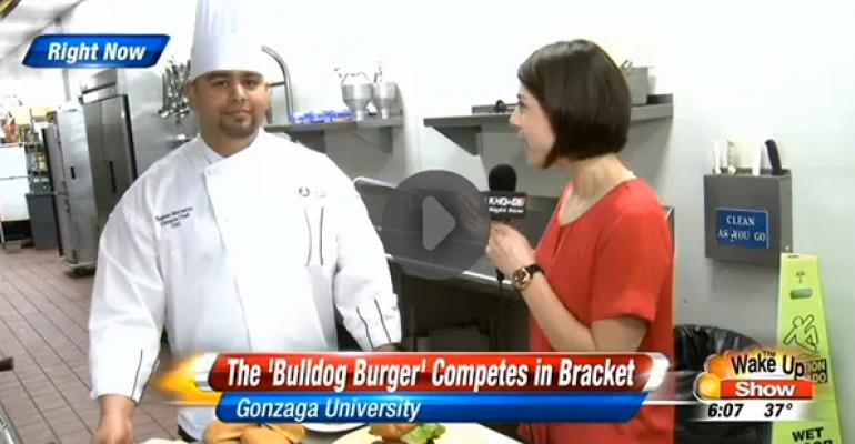 Gonzaga dining's celebrity moment