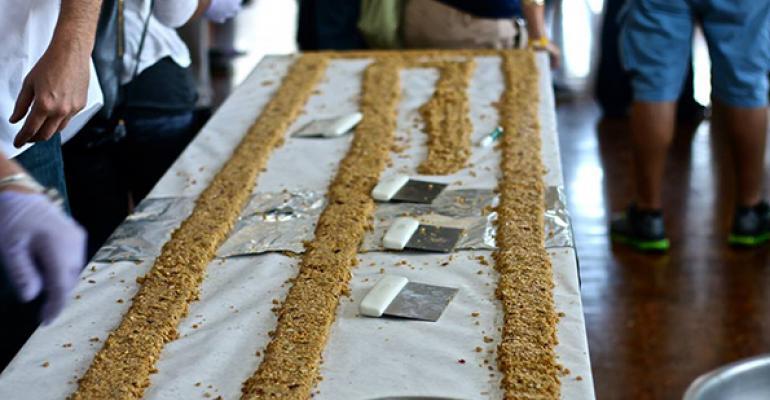 Worlds Longest Granola Bar at UC Santa Cruz