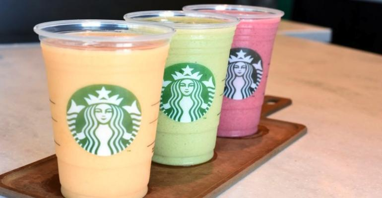 Starbucks to Become a Real Smoothie Operator