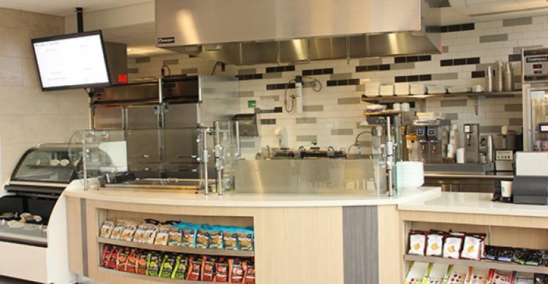 Best Wellness Concept: Michael D. Bloch Café