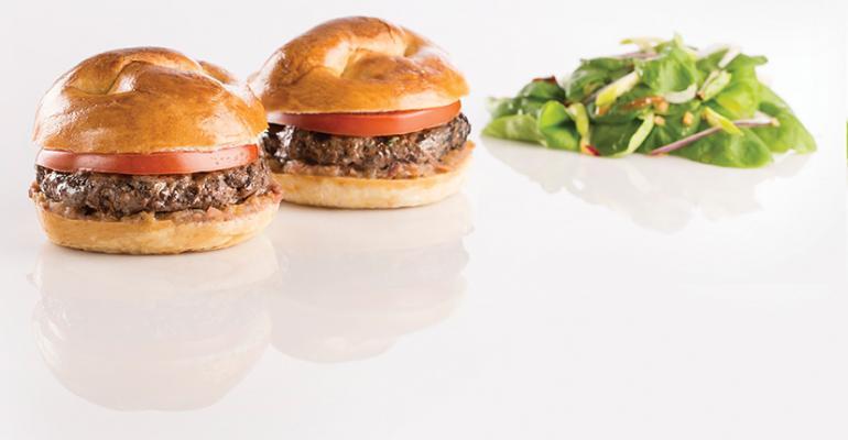 PB&J Sliders (Blended Beef/Mushroom)