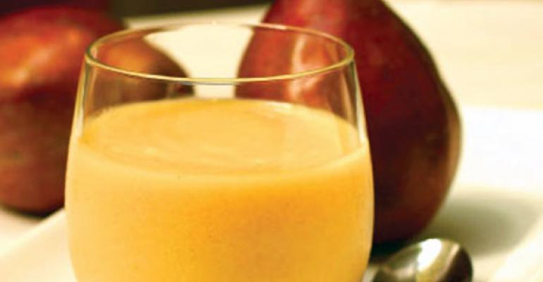 Pear & Peanut Butter Smoothie