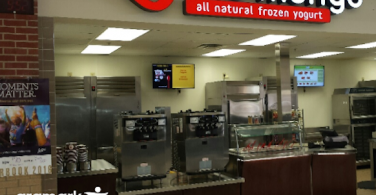 Northwest ISD is piloting branded Red Mango stations in its three district high schools