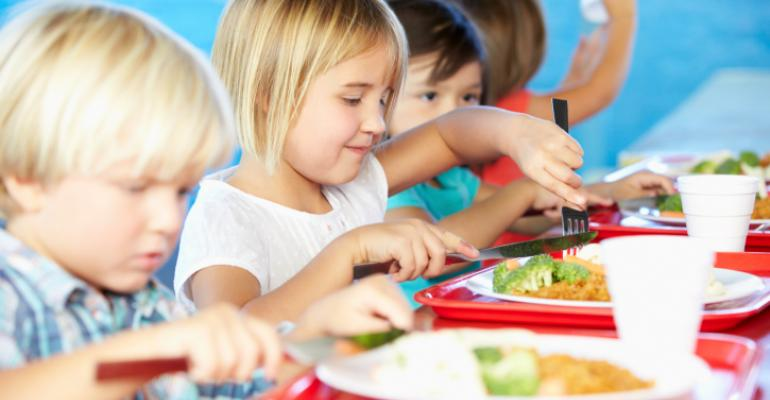 Universal school meal programs jump 20 percent in one year