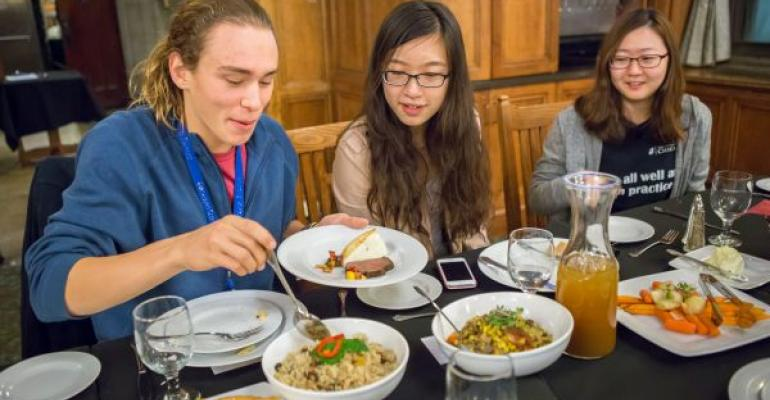 The University of Chicago piloted a Saturday night free meal program to determine if dining services needs to expand services to weekends