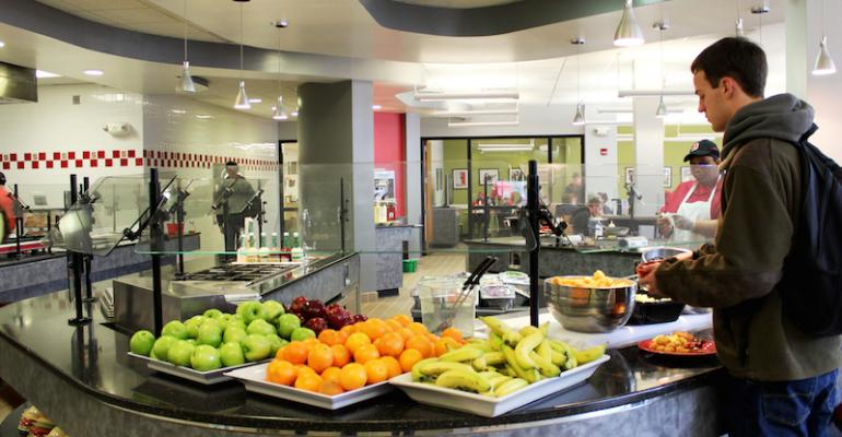 Healthy food options are emphasized as part of NC State39s Healthier Campus Initiative commitment