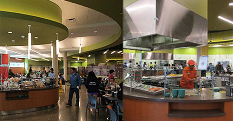 The yearold LEED Silver certified Dining Hall West is UTDallas39 only residential dining hall seating 800
