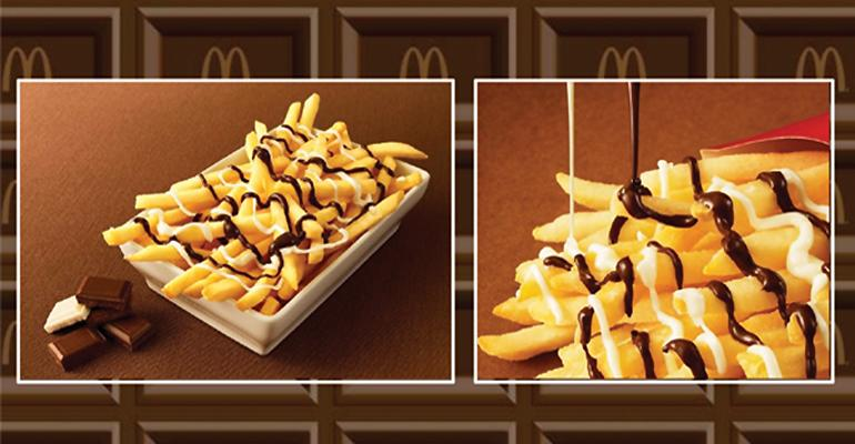 3 Quick Bites: What makes french fries even better? Chocolate.