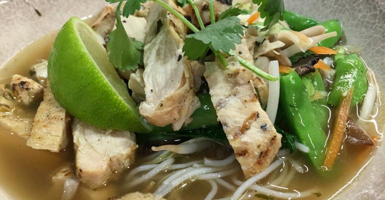 Glutenfree noodle bowl
