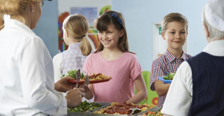 Study: K-8 schools show progress in serving healthier meals