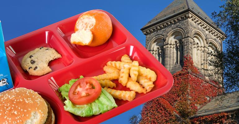 5 things: Should the National School Lunch Program expand to colleges?