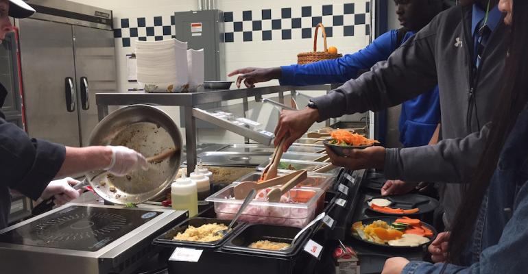 High school starts cooked-to-order options, sees veggie consumption increase