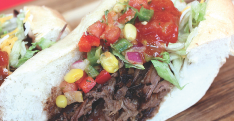 MORE THAN ONE APPLICATION Los Lobos Barbacoa is an example of how NC State makes barbecue work in many different menu items
