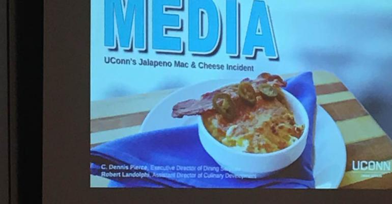 UConn's infamously delicious jalapeño-bacon mac 'n cheese