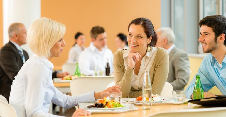 Survey shows demand for onsite dining options at workplaces