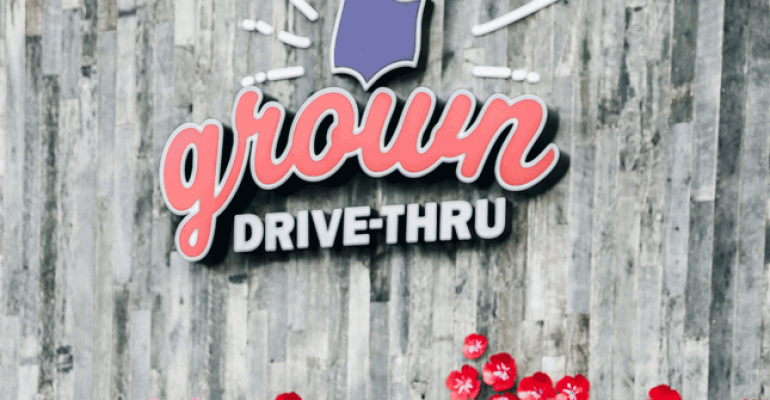 Grown drivethru