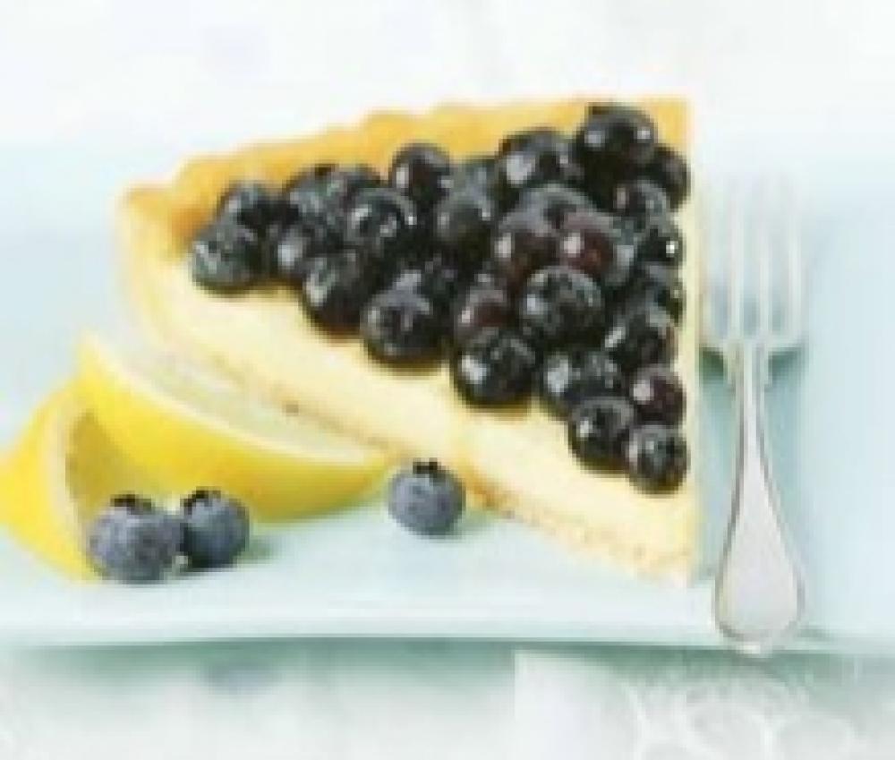 Lemon Blueberry Cheese Tart