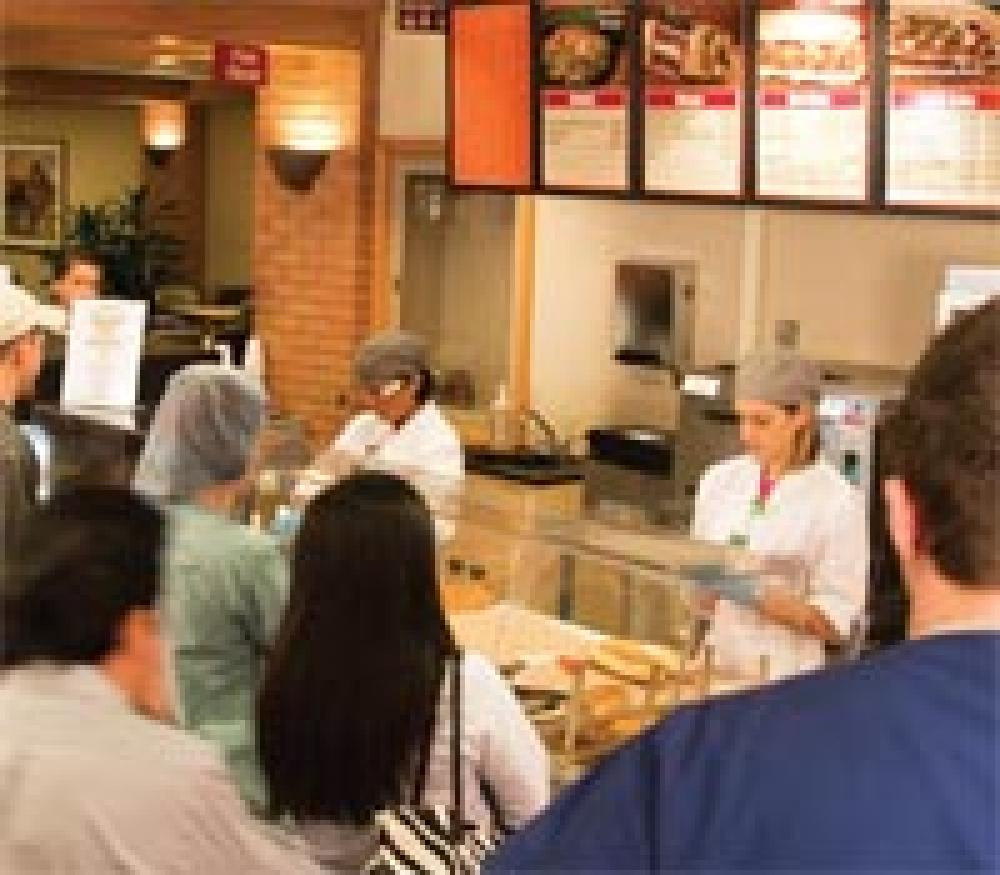Sandwich Station Takes Pressure Off Crowded Cafe