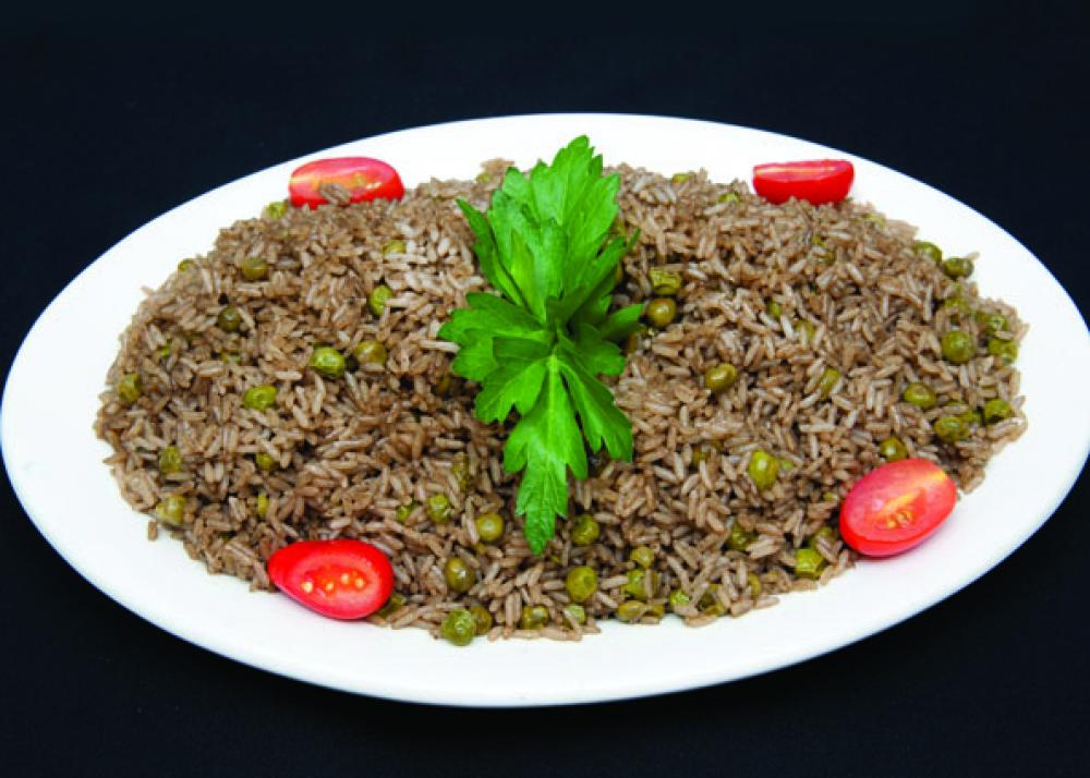 Yanicks Haitian Black Rice and Peas