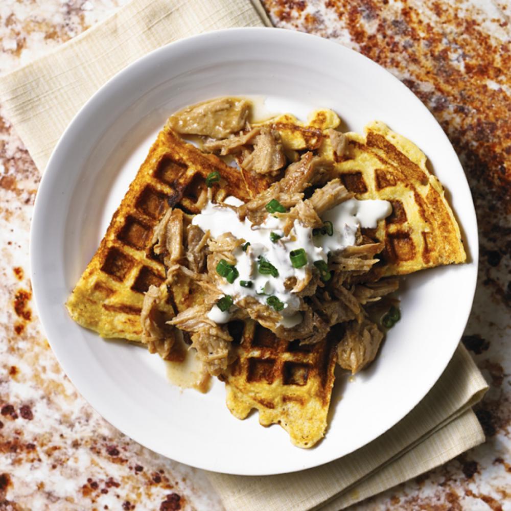 Pork Waffle
