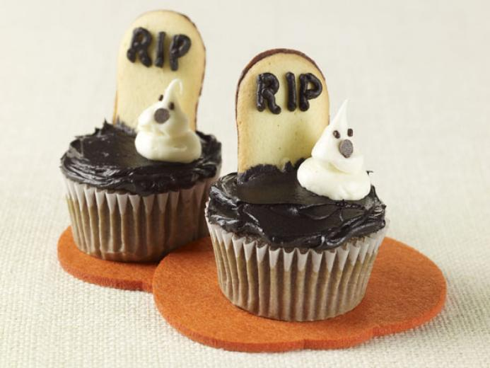 Tombstone Cupcakes