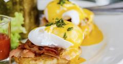Inject flavor to breakfast and brunch dishes