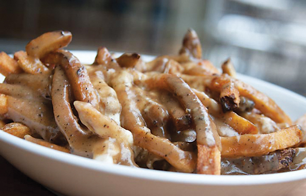 Gravy fries from Sawyer's Street Frites