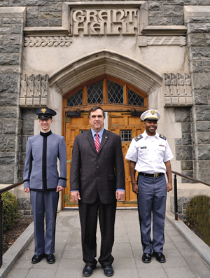 Kevin D'Onofrio oversees retail foodservice operations at the U.S. Military Academy at West Point. Grant Hall is the primary retail venue, with about $4.6 million in sales last year.