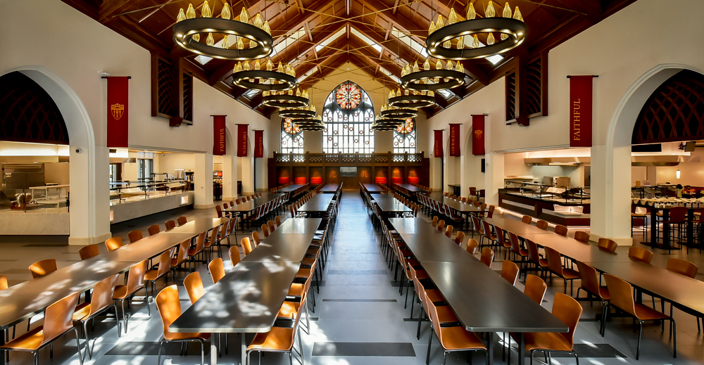 Southern California Colleges >> USC's newest dining hall designed around wellness, sustainability phil | Food Management